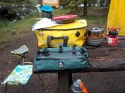 Various gear bags