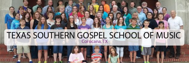 Texas Southern Gospel School of Music 2018