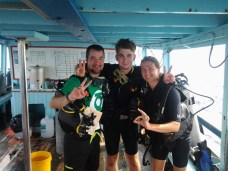 Ready for diving
