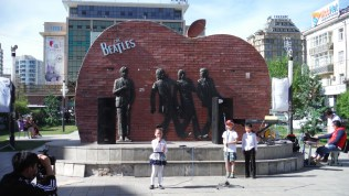Poetry in front of the Beatles