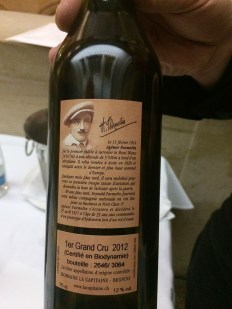 """White wine, Chasselas, """"Au Fossau"""" Vaud 1er Grand Cru 2012, Le Capitaine winery in Begnins"""