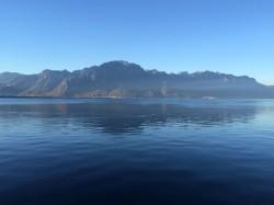 Montreux and Lake Geneva Friday morning 31 October