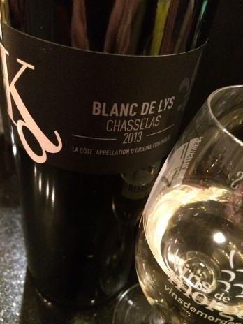wine white Chasselas Vaud David Kind_030315