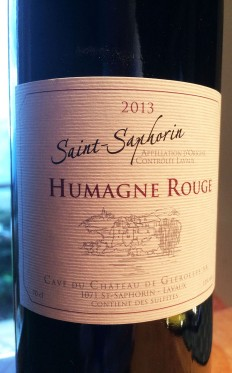 wine red Humagne Rouge Vaud St Saphorin 2013_170415