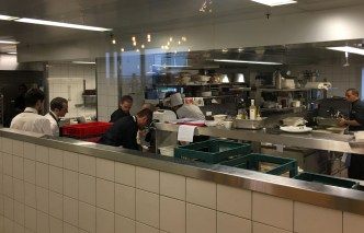 Geneva airport restaurant Le Chef Benjamin Luzuy kitchen_160316