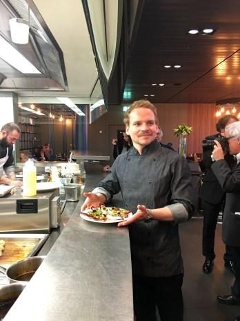 Geneva airport restaurant Le Chef Benjamin Luzuy_160316
