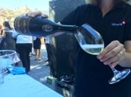 VIPs get to start with Maurer sparkling wine