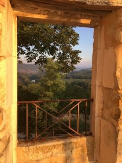 Domaine Gressac, Cèze river, woods, vineyards, fields