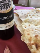 Sardinia Oliena Agriturismo Camisadu wine red Cannonau pane carasau_191016