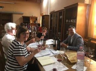 Sardinia Oliena winetasting group_191016