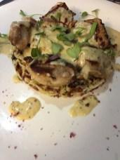Barcelona lunch mushrooms rice_101117