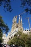 Gaudi cathedral Barcelona_121117
