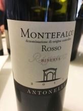 wine red Italy Montefalco Rosso Antonelli 2011_261017