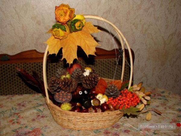 """Поделки в садик на тему """"Осень"""" своими руками: фото ..."""