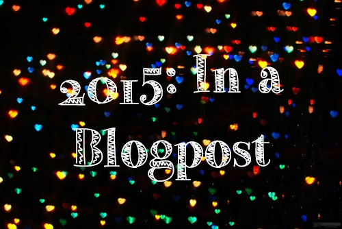 2015 in a Blog Post