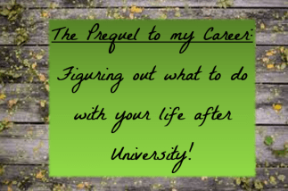 The Prequel to my Career | Personal
