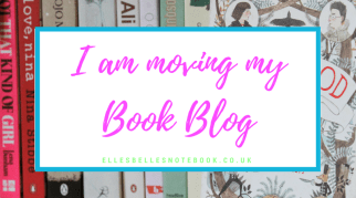 I am moving my Book Blog!