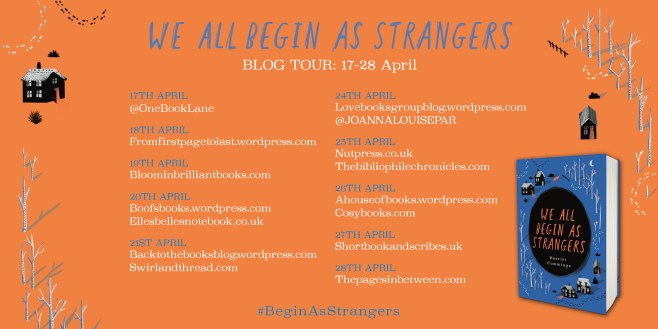 We All Begin as Strangers Blog Tour Book Review