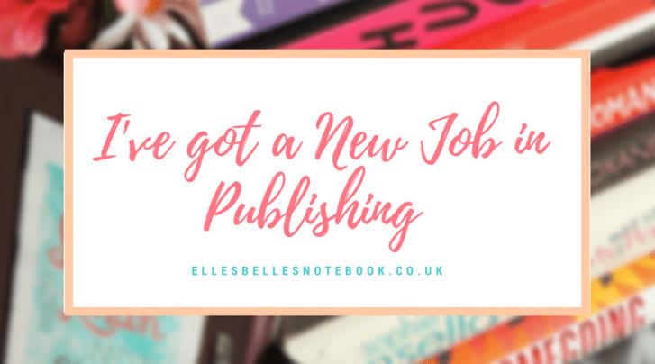 new job in publishing
