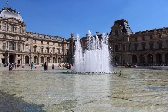 Louvre Fountain, Paris 2017