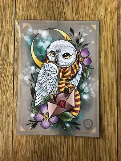 Hedwig Tattoo print