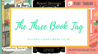 The Three Book Tag | Tag