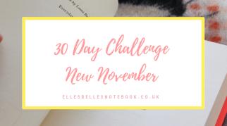 30 Day Challenge | New November