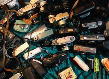 cameras hackey flea market