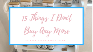 15 Things I Don't Buy Any More