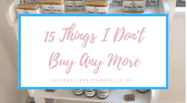 15 Things Don't Buy