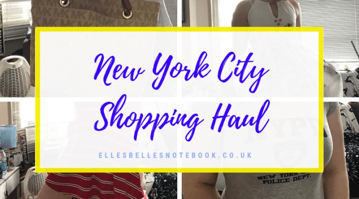 New York City Shopping Haul