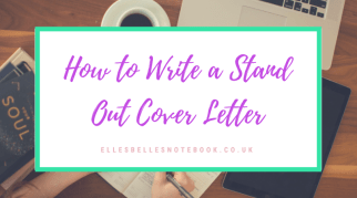 How to Write a Stand Out Cover Letter
