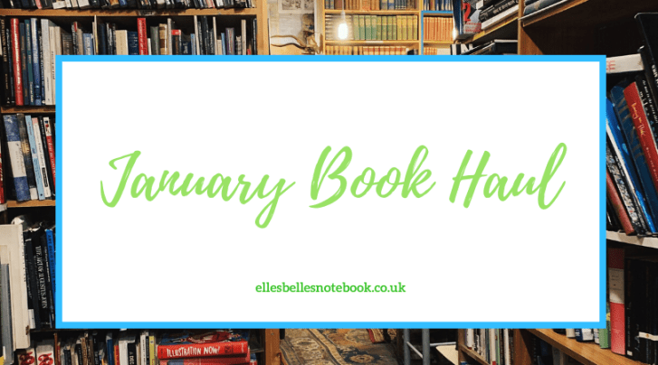 January 2020 Book Haul