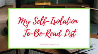 My Self-Isolation To-Be-Read List