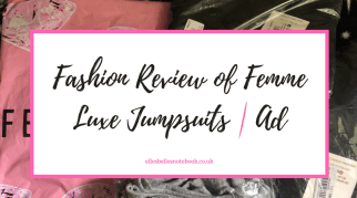 Fashion Review of Femme Luxe Jumpsuits | Ad