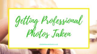 Getting Professional Photos Taken