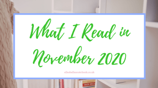What I Read in November 2020
