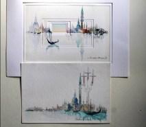 Aquarelles Venise