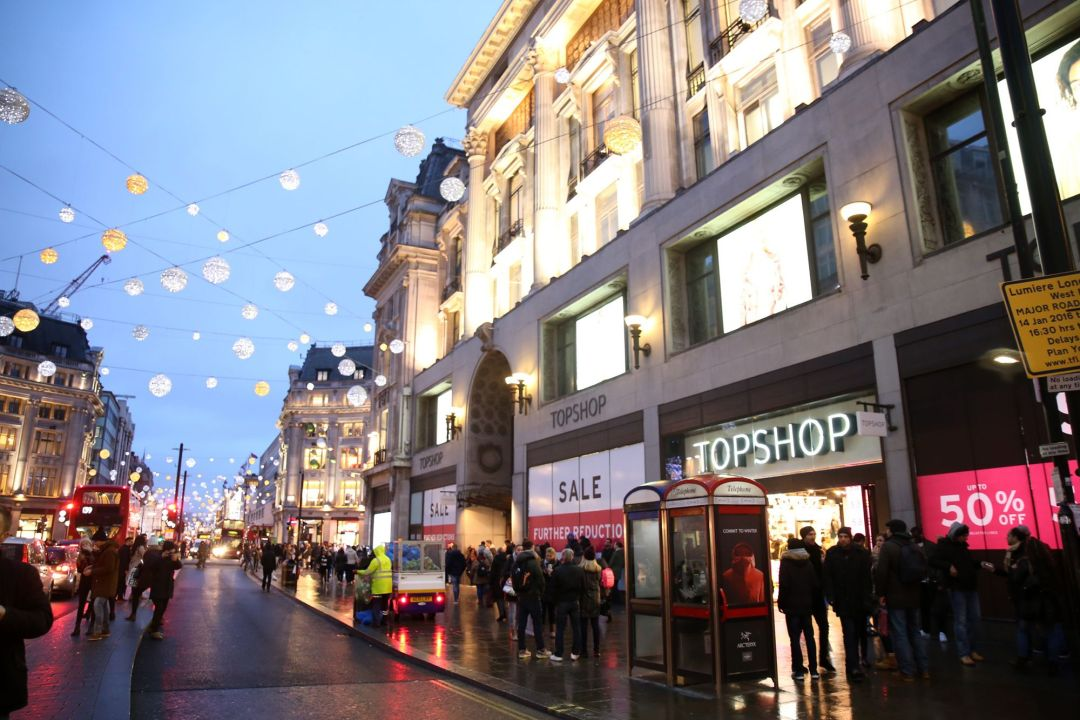 topshop oxford street
