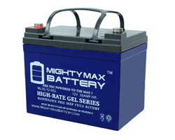 Mighty Max ML35-12 Battery, Mighty Max Gel Series Battery