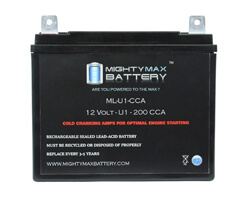 Mighty Max ML-U1 Battery