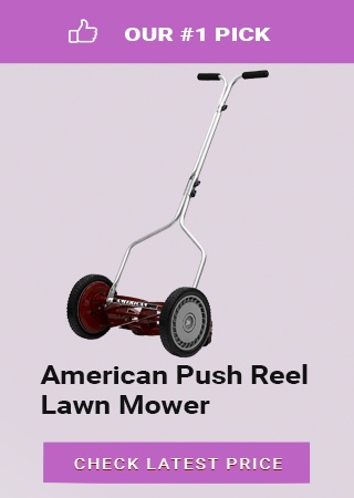 American Push Reel Lawn Mower, best reel mower