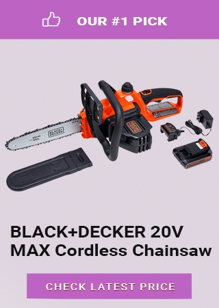 BLACK+DECKER Cordless Chainsaw, best electric chainsaw