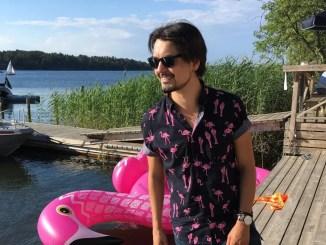 Jamie Meyer, Sjöboden, Djurönäset juli 2018