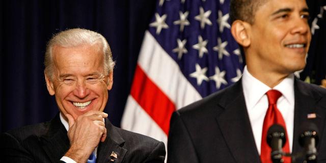 Joe Biden and Barack Obama | ELLE UK