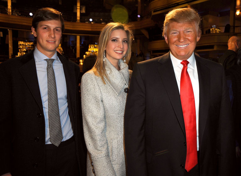 Image result for photos of jared kushner and ivanka