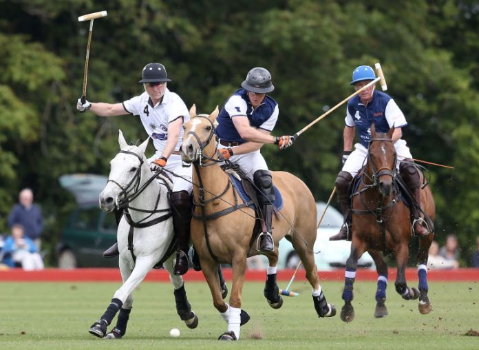 Polo playing | ELLE UK