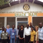 Partnering with the Pignon Rotary Club
