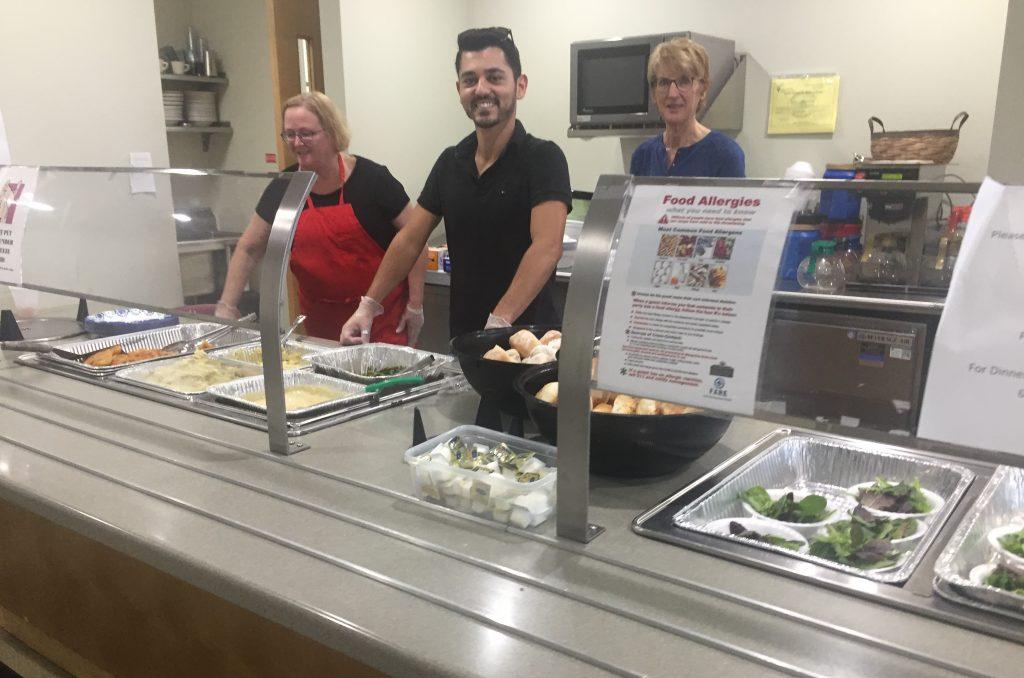 Serving Meals at Grassroots