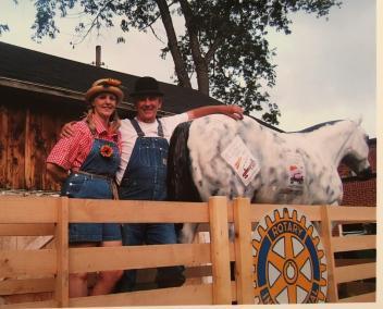 Bob deb and horse